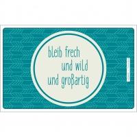 Frühstücks-Brettchen - Tablett Sei Wild