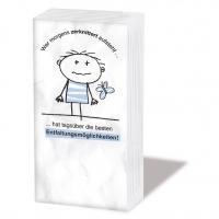Taschentücher Zerknittert
