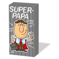 Taschentücher Super Papa