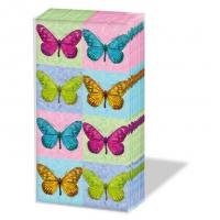Taschentücher Pop Art Butterflies
