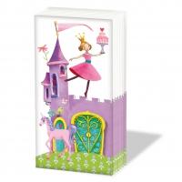 Taschentücher Princess Castle