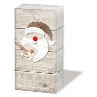 Taschentücher Santa Red Nose