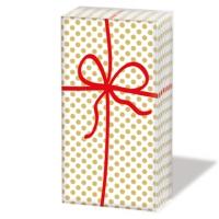 Taschentücher Cadeau Deluxe gold