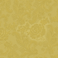 Servietten 33x33 cm - Lace embossed gold