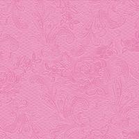 Lunch Servietten Lace Embossed pink