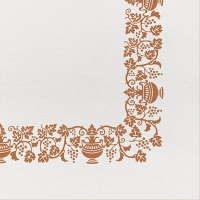 50 Tissue Servietten 40x40 cm - Country Ocra
