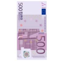 12 Servietten 33x33 cm - Five Hundred Euro