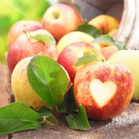 20 Servietten 33x33 cm - Lovely Apple