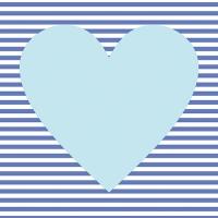 30 Servietten 33x33 cm - Hearty hellblau