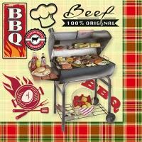 20 Servietten 33x33 cm - BBQ Season