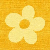 30 Servietten 33x33 cm - Bloomy gelb