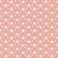 30 Servietten 33x33 cm - rosa Shell
