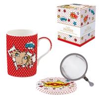 Porzellan-Tasse - Coffee Mania - POPT