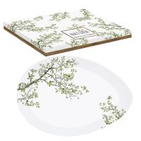 Porzellan-Platte - Natura