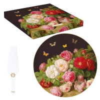 Porzellan-Tortenplatte 32cm - Victorian Garden