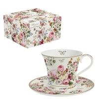 Porzellan-Tasse - Blooming Opulence