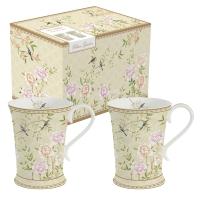 Porzellan-Tasse - Palace Garden floral