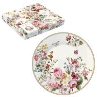 Porzellan-Teller 19cm - Blooming Opulence