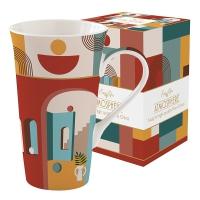 Porzellan-Tasse - Coffee Mania - ILLU