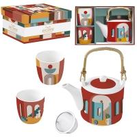 Tee Set - Coffee Mania - ILLU