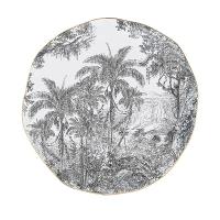 Porzellan-Platte 26cm - Rain Forest