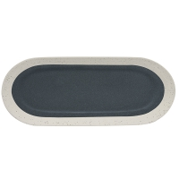 Platte 38,5 x 16cm - Graphite