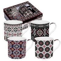 Set Tassen 300ml - Global Ethnic Incas