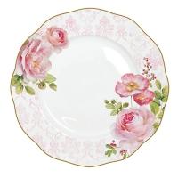 Porzellan-Teller 27cm - Floral Damask