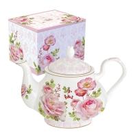 Teekanne - Floral Damask