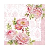 Servietten 33x33 cm - Floral Damask