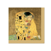 Servietten 33x33 cm - The Kiss