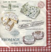 Lunch Servietten Maitre Fromager