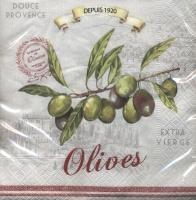 Lunch Servietten OLIVES 2014