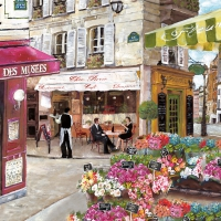 Lunch Servietten RUES DE PARIS