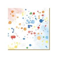Servietten 33x33 cm - Color Spash