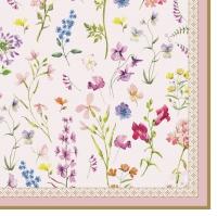 Servietten 33x33 cm - Symphonie Florale