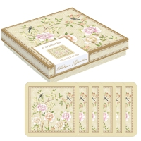 Kork Untersetzer - Palace Garden floral