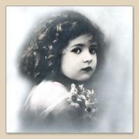 Servietten 33x33 cm - Vintage Girl