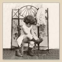 Servietten 33x33 cm - FASHION GIRL