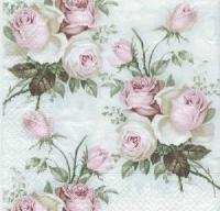 Servietten 25x25 cm - Rose