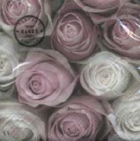 Servietten 25x25 cm - Roses