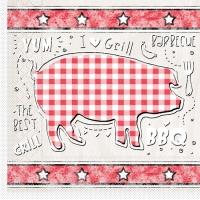Tissue Lunch Servietten - BBQ-Grillfest