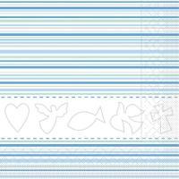 Tissue Lunch Servietten - KOMMUNION / KONFirmATION blau