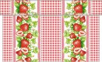 Tischläufer - Erdbeeren