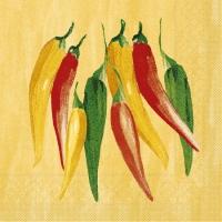 Tissue Lunch Servietten - Chili