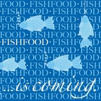 Linclass Dinner Servietten - Fischfutter