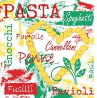 Linclass Dinner Servietten Pasta