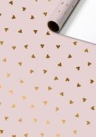 Geschenkpapier metallisiert - Naomi
