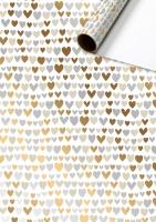 Geschenkpapier metallisiert - Nicoletto