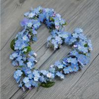Servietten 33x33 cm - Gudrun blau hell